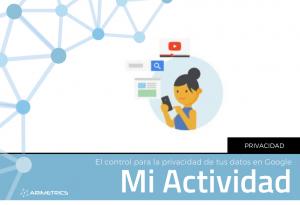 Mi actividad de Google: Controla la privacidad de tus datos