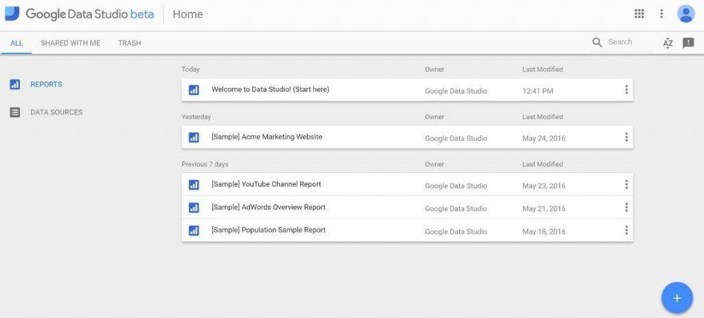 como funciona google data studio