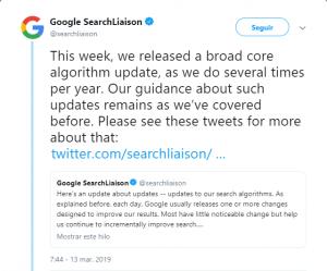 El algoritmo de optimización de búsqueda
