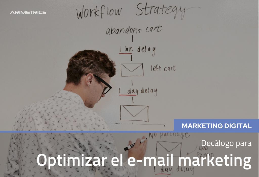 Decálogo para optimizar el Email Marketing 2