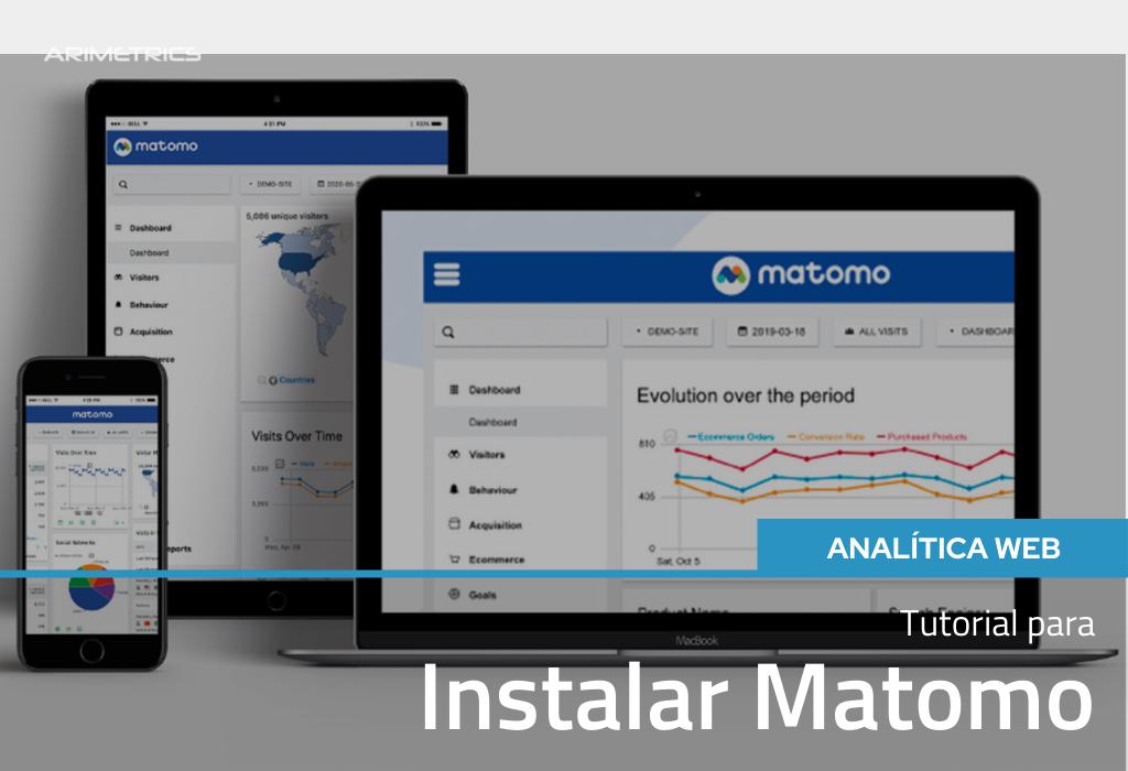 Tutorial para instalar Matomo (antes conocido como Piwik) 2