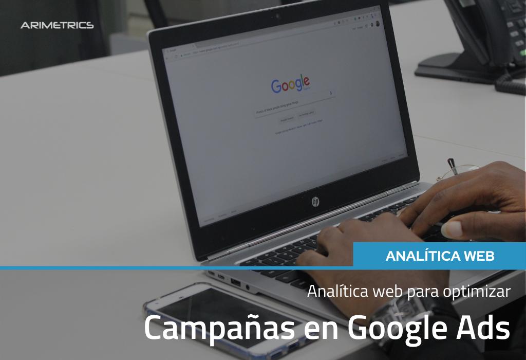 Analítica Web para optimizar campañas de Google Ads 2