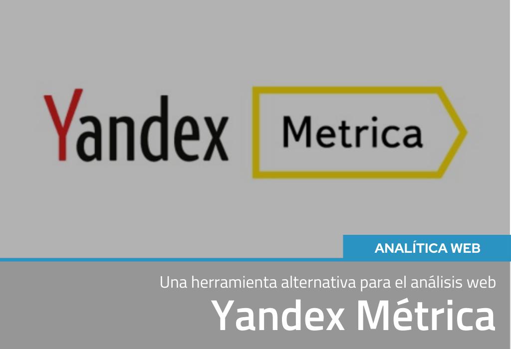 Yandex Metrica:una herramienta alternativa para análisis web 2